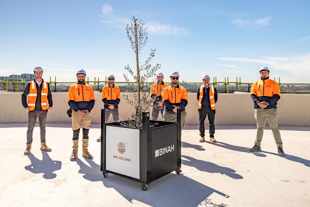 Olive Tree Topping Out Ceremony